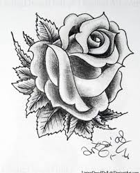 rose and ribbon tattoo design photos pictures and sketches