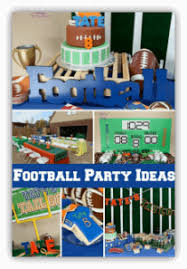 football party ideas football birthday party ideas spaceships and laser beams
