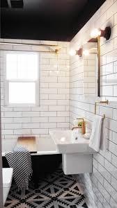 salle de bain ado la salle de bain noir et blanc les dernières tendances