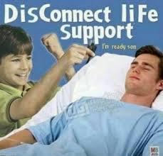 Support Meme - disconnect life support meme xyz