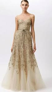 gold wedding dresses 20 gorgeous and glamourous metallic wedding dresses