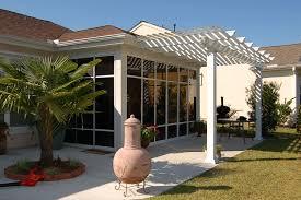 Attaching Pergola To House by Pergolas Us Aluminum