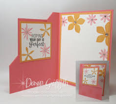corner flip card video dawn u0027s stamping thoughts