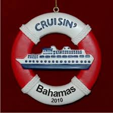 buoy cruise ship personalized ornaments by