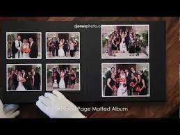10x10 Wedding Album 10x10 50 Page Matted Leather Craftsmen Wedding Album Youtube