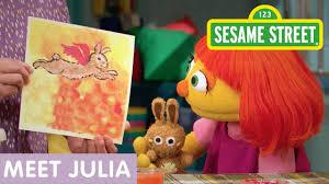 sesame street meet julia clip 10 min