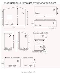 Free Woodworking Furniture Plans Pdf by The 25 Best Doll House Plans Ideas On Pinterest Diy Dollhouse
