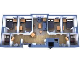Three Bedroom Flat Floor Plan 4 Bedroom Luxury Apartment Floor Plans Best Home Design Ideas