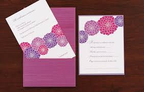 purple dahlia bat mitzvah invitation blue magpie invitations