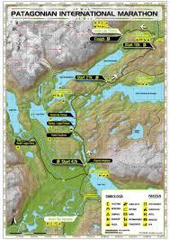 Patagonia Map International Marathon In Patagonia Fantástico Sur Torres Del