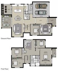 floor plan for two story house autocad residential plans download storey house floor plan with