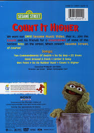count it higher sesame on dvd