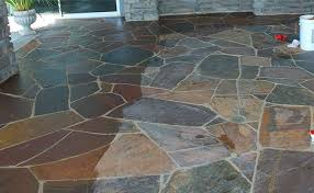 slate floor cleaning and color enhancing sealer san diego