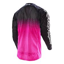 tld motocross gear troy lee designs 2016 starburst se air jersey pink black available