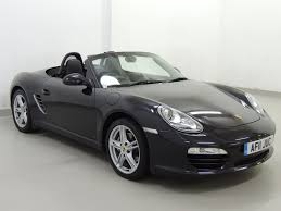 Used Porsche Boxster 987 2 9 Pdk Black 2 9 Convertible Harlow