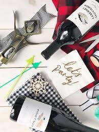 hostess gifts wine and diy wrapping ideas domestikatedlife