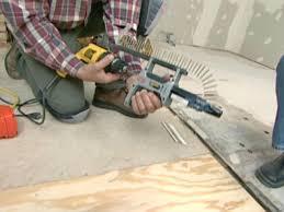 Replacing Floor In Bathroom How To Repair A Water Damaged Subfloor How Tos Diy