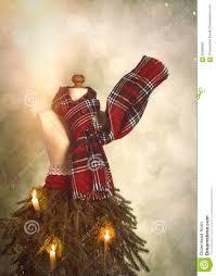 old fashioned christmas tree stock photo image 62960603