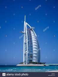 uae middle east gulf state dubai 6 star burj al arab hotel on