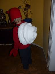 the knitbook hermit crab costume