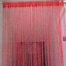 sale sparkle string tassel curtain door window room divider