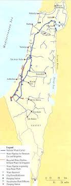negev desert map exposing myth of no dams flooding gaza the palestine