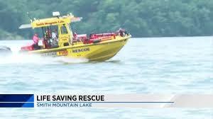 Smith Mountain Lake Fishing Map Family Thanks Smith Mountain Lake First Responders For