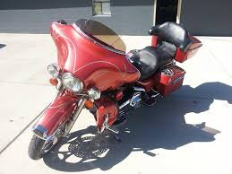crystal wine red candy electra glide
