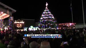 rehoboth beach annual christmas tree lighting youtube