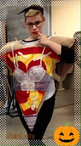 Pizza Halloween Costume Pizza Costume Slice Myth Legend Nerd Ily