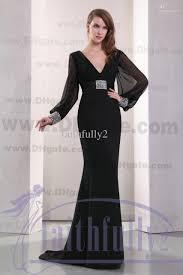 elegant black evening dresses dress images