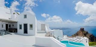 5 best luxury villas u0026 suites on santorini and mykonos islands