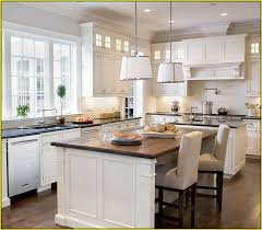 white kitchen with island marvelous white kitchen island with breakfast bar 40 in home