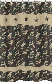 Camouflage Bathroom Green Camo Army Camouflage Kids Bathroom Fabric Bath Shower