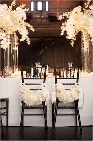 white wedding chairs monochrome wedding ideas table decor black and white black