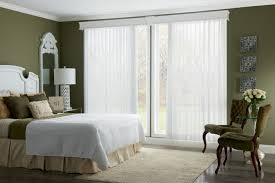 blinds in door glass bedroom ideas with white glaze steel sliding glass door and white