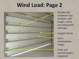 Overhead Door Hinges How To Specify Garage Doors For Architects Developers Versio