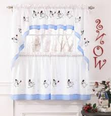 Christmas Kitchen Curtains by Holiday Window Curtains Christmas Kitchen Walmart Autumn Color