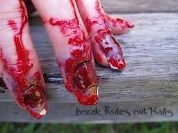 halloween blood background october 2013 break rules not nails