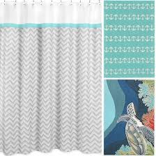 Turquoise Bathroom Rugs Turquoise Shower Curtain Bath Rug Combo Http Www Completely