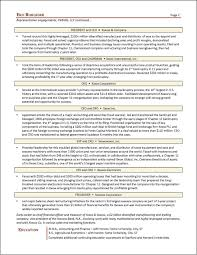 Treasurer Resume Chief Restructuring Executive Resume Page 2 Jpg
