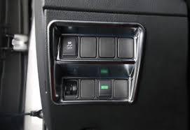 interior dashboard switch cover trim matt for nissan x trail rogue