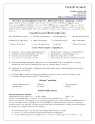 Resume Samples Insurance Jobs by Interesting Controller Resume Examples For Employment Vntask Com