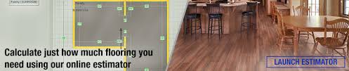 flooring estimator at menards