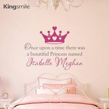 Once Upon A Time Home Decor Compare Prices On Personalized Name Stickers Wall Once Upon A Time