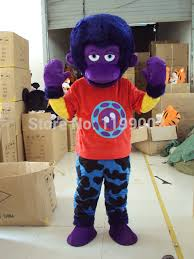 popular cartoon monkey mascot buy cheap cartoon monkey mascot lots