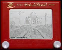 etch a sketch art u2013 19 incredible drawings of kevin e davis on a
