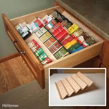clever kitchen cabinet u0026 pantry storage ideas family handyman