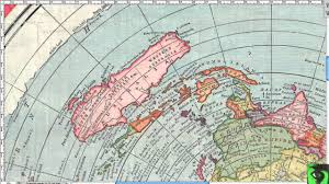 Flat Map Of The United States by Antarctica And 1892 Gleason Flat Earth Map Doesn U0027t Work Youtube