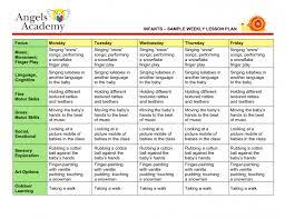blank lesson plan template preschool weekly